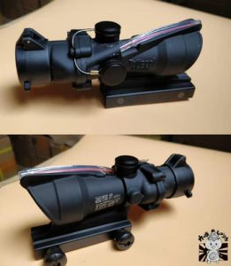 エボリューションギア EVOLUTION GEAR TRIJICON TA31 ACOG 3D LETTER MARKING 日本 代理店