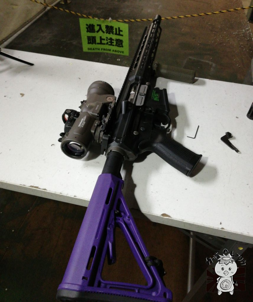 エボリューションギア EVOLUTION GEAR ELCAN SPECTER DR ELCAN 1.5-6X SCOPE MIL SPEC VER エルカン エボギア